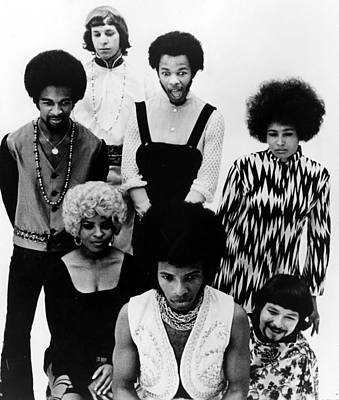Sly And The Family Stone, C. 1970 Poster