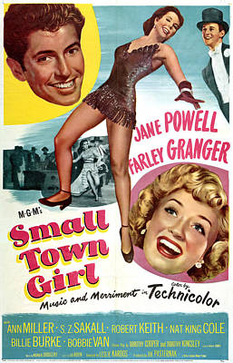 Small Town Girl, Top From Left Farley Poster