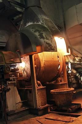 Smelting Precious Metal Ores Poster by Ria Novosti