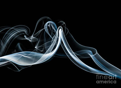 Smoke-1 Poster by Larry Carr