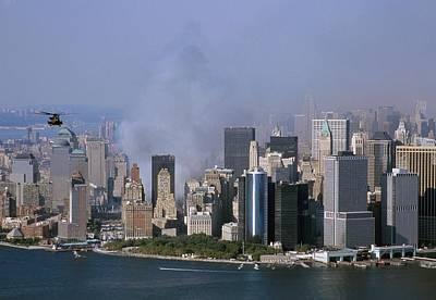 Smoke From The Ruins Of The World Trade Poster