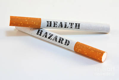 Smoking Is A Health Hazard Poster by Blink Images