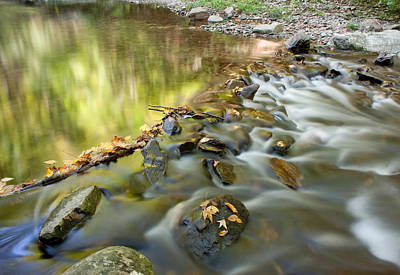 Smoky Mountain Streams Iv Poster