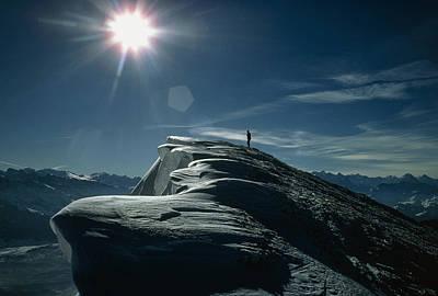 Snow Cornices Poster