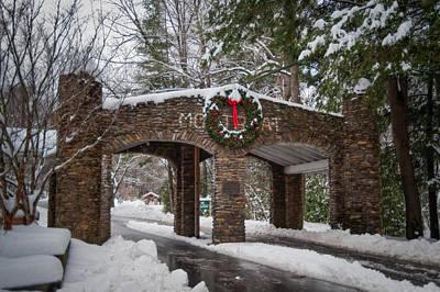 Snow Gate  Poster by Joye Ardyn Durham