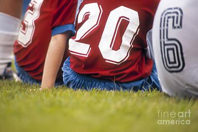 Soccer Poster by Juan  Silva