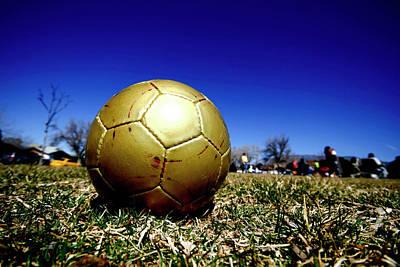 Soccer Season Starts Poster