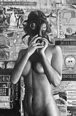 Social Filter Poster by Brent Schreiber