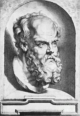 Socrates, Greek-athenian Philosopher Poster by Science Source