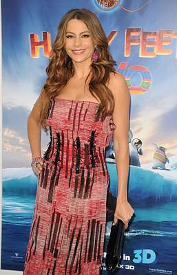 Sofia Vergara Wearing A Carolina Poster by Everett