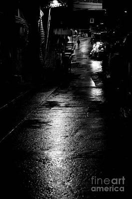 Soho Noir Poster by Dean Harte