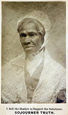 Sojourner Truth 1797-1883 African Poster by Everett