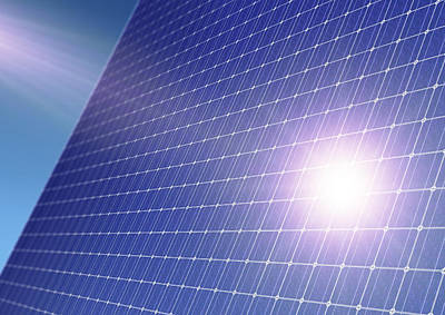Solar Panel Poster by Detlev Van Ravenswaay