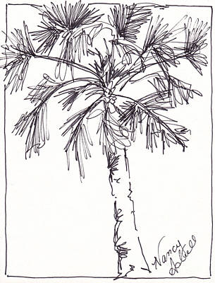 Solid Palm Poster by Michele Hollister - for Nancy Asbell