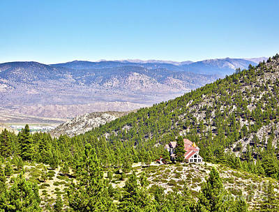 Solitude With A View - Carson City Nevada Poster