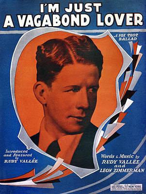 Song Sheet: Vagabond, 1929 Poster