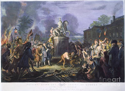 Sons Of Liberty: Statue Poster by Granger