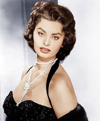 Sophia Loren, Ca. 1957 Poster by Everett