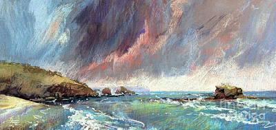 Sorrento Storm Poster by Pamela Pretty