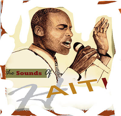 Sounds Of Haiti Poster by Bob Salo