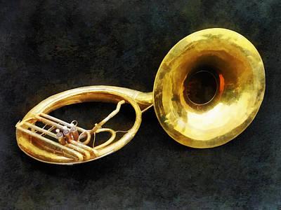 Sousaphone Poster by Susan Savad
