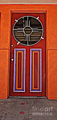 Southwest Architecture Poster by Susanne Van Hulst