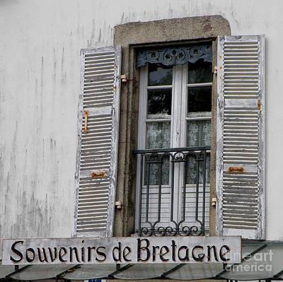 Souvenirs De Bretagne Poster by Lainie Wrightson