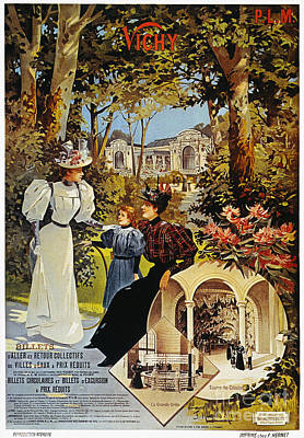 Spa: Vichy, France, 1890s Poster