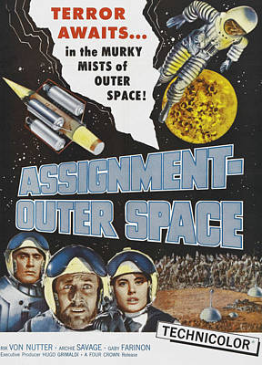 Space Men, Aka Assignment Outer Space Poster
