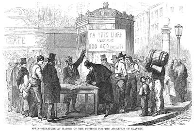 Spain: Abolitionists, 1869 Poster by Granger