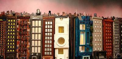 Special Perspective-big Blocks Poster by Robert Handler