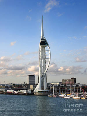 Spinnaker Tower Poster by Jane Rix
