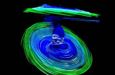 Spinning Life Poster by Shashi Kumar