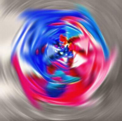 Spinning Pinwheel - Americana Poster by Steve Ohlsen