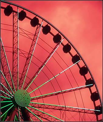 Spinning Wheel  Poster by Karen Wiles