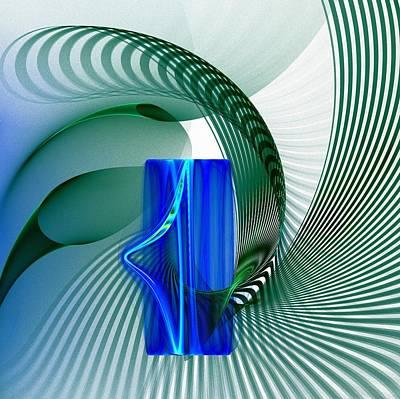 Spiral Poster by Klara Acel