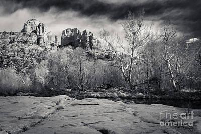 Spooky Castle Rock Poster