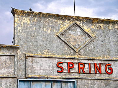 Poster featuring the photograph Spring by Brian Sereda