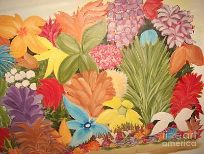 Spring Colours Poster by Rachel Carmichael