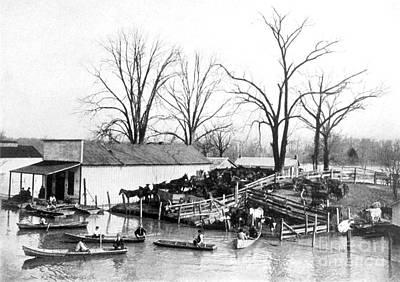 Spring Flood, 1903 Poster