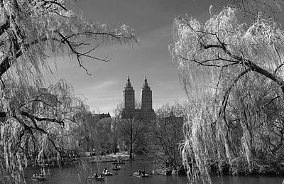 Poster featuring the photograph Spring In Central Park by Yelena Rozov