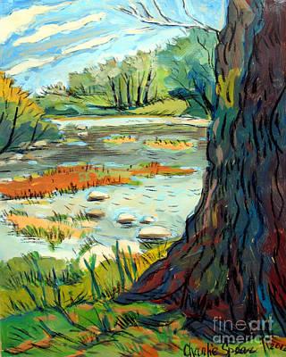Spring River Eel Poster