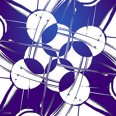 Poster featuring the photograph Square Circles by Lauren Radke