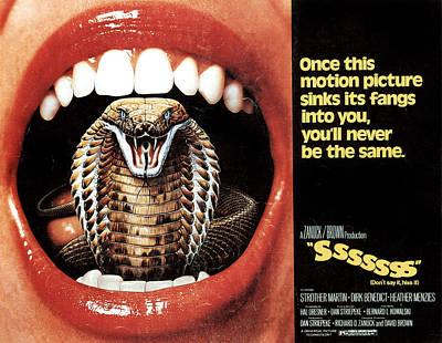 Sssssss, Lobby Card, 1973 Poster