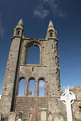 St Andrews Cathedral Poster by Gloria & Richard Maschmeyer