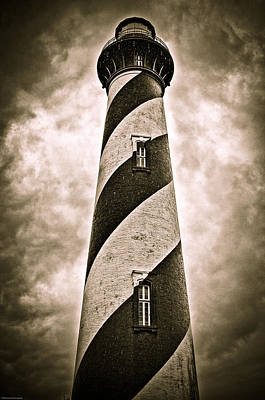 Poster featuring the photograph St Augustine Lighthouse by Bill Howard