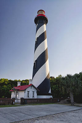 St Augustine Lighthouse Florida Poster by George Oze