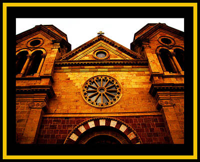Poster featuring the photograph St. Francis Basilica Cathedral by Susanne Still