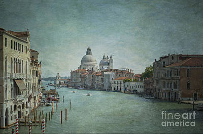 St Maria Della Salute Poster by Marion Galt