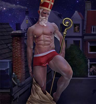 St Nicholas Poster by John Clum